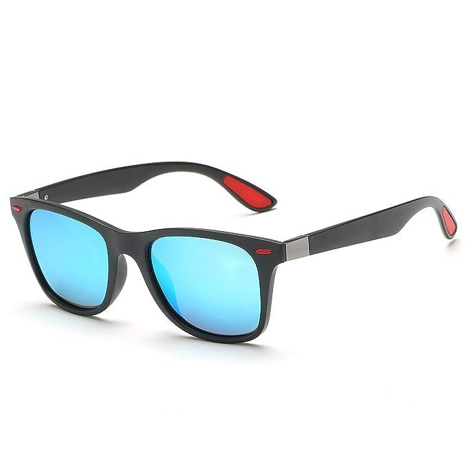 Dovava Gafas de Sol Hombre Mujer (Azul): Amazon.es: Ropa y ...