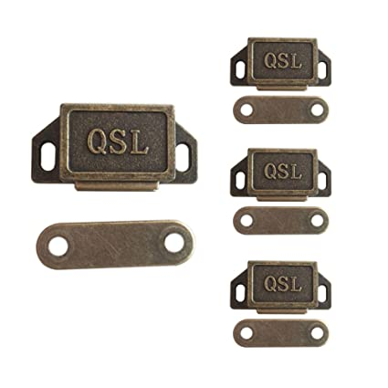 Ordinaire YES Time Set Of 4 Magnetic Cabinet U0026 Door Latch Catch Cabinet Closures  Cabinet Hardware Fittings