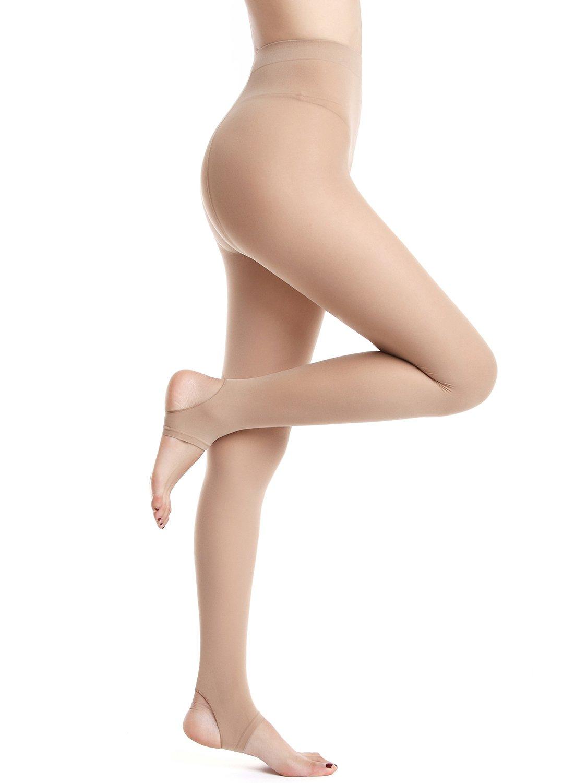 Amoretu Women's Seamless Sheer Tights Leggings