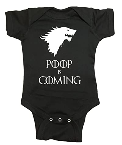 Game of Thrones Baby One Piece Poop is Coming Bodysuit