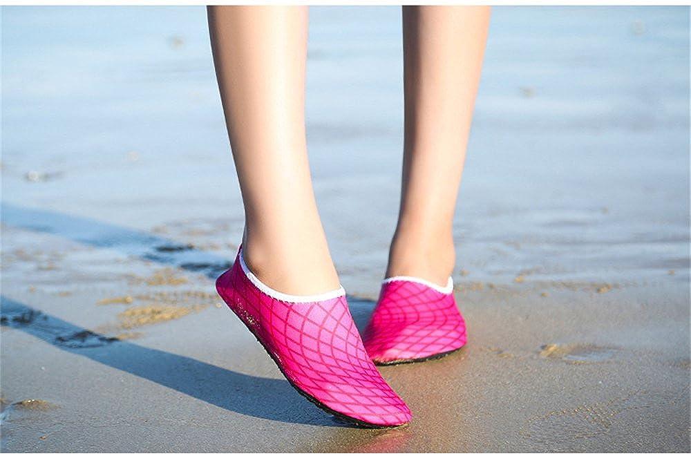 edv0d2v266 Kids Water Shoes Boys Girls Swim Shoes Quick-Dry Barefoot Aqua Shoes Socks for Beach Pool Surfing Yoga