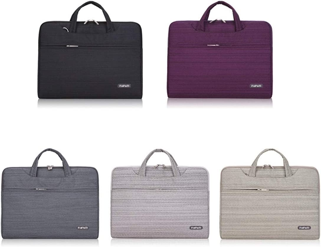 ZYDP Laptop Case Bag Multifunction Notebook 13//14//15 Business Computer Travel Bag Color : Purple, Size : 13 inches
