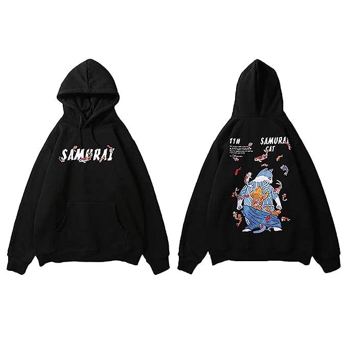 Amazon.com: Sudadera con capucha para hombre Harajuku ...