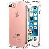 Jenuos Funda iPhone SE 2020, Funda iPhone 7 / iPhone 8, Transparente Suave Silicona Protector TPU Anti-Arañazos Carcasa…
