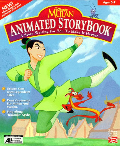 Mulan Animated Storybook - PC/Mac