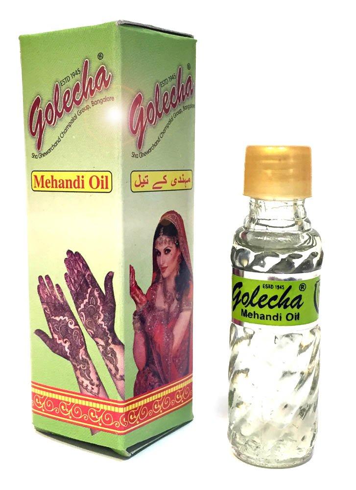Bottle of Mehandi oil
