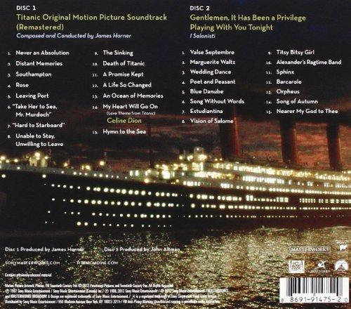 titanic original motion picture soundtrack anniversary