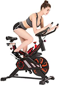 BF-DCGUN Bicicleta Spinning, Equipo de Fitness para el hogar ...