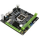 KKmoon MAXSUN MS-H81IL M.2 for Intel H81 LGA 1150 Socket Desktop Computer Mainboard Motherboard SATA 6Gb/s USB 2.0 Games DDR3 Intel LGA1150 Mini-ITX