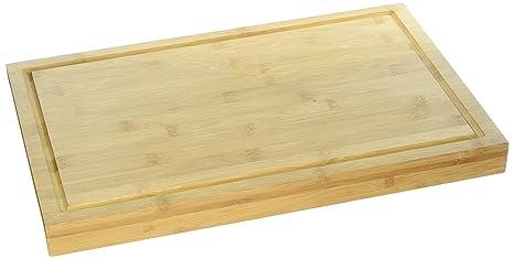 Amazon Com Cutting Board With Lip Bamboo Cutting Board With Drip