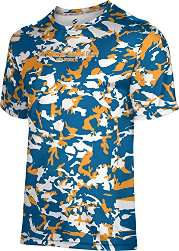 Puerto Rico National Guard (ProSphere Boys' Puerto Rico Air National Guard Military Camo Shirt (Apparel))