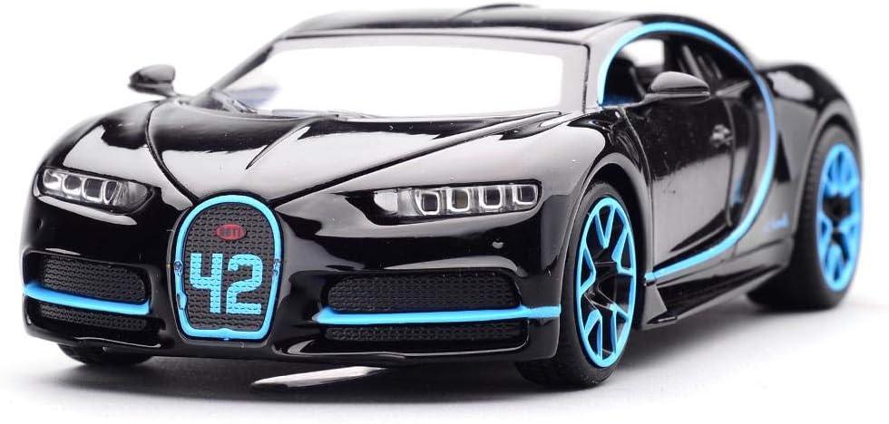 Bugatti Chiron RC Car 1:32 Scale Toy Car, Alloy Model, Bugatti Chiron Model Vehicle For Kids – Blue