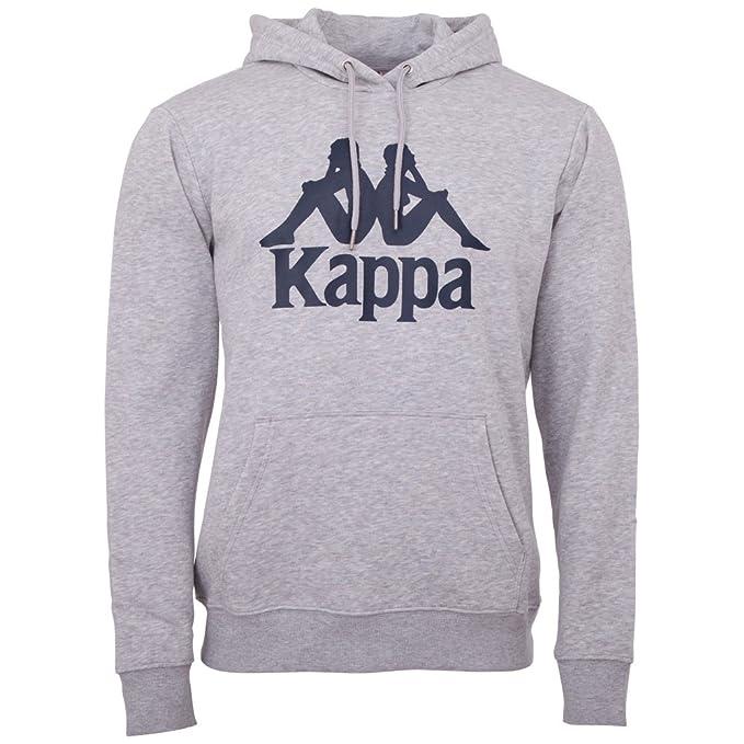 Kappa TAINO - Sweat à capuche - grey melange jvXvf12GN