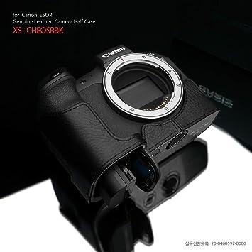 Gariz XS-CHEM1IIBK Genuine Leather Half Case for Olympus EM1II E-M1II Black