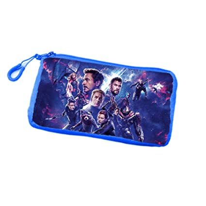 8d691482f31 Giftix Personalized Avengers Endgame Print Polyester Velvet Pencil Pouch  for Kids