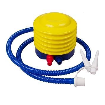 asdomo hinchable plástico bomba de aire bomba de pie bomba de mano bomba para inflar globos