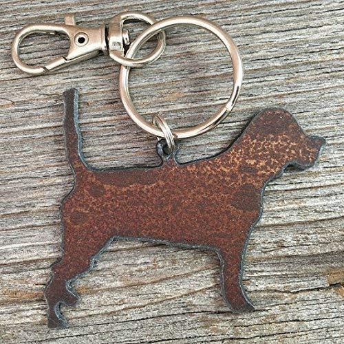 Beagle Keychain, Beagle Key Ring, Beagle Purse Charm, Dog Key Ring, Dog Keychain, Dog Gifts, Dog Lover Gift ()