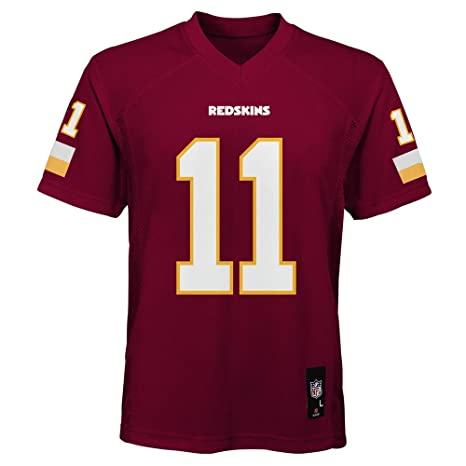 7df28bfe69a Outerstuff Alex Smith Washington Redskins NFL Youth 8-20 Red Home Mid-Tier  Jersey