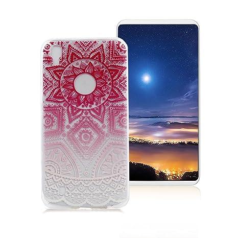 Xiaoximi Funda LG X Power Carcasa de Patrón de Tótem Carcasa ...