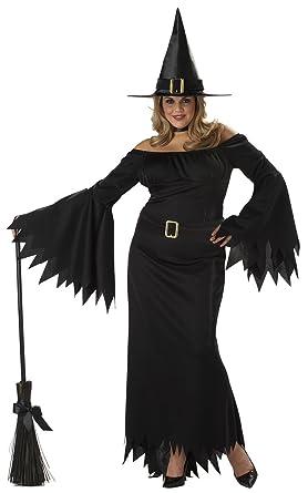 California Costumes Womenu0027s Plus-Size Elegant Witch Plus Black ...  sc 1 st  Amazon.com & Amazon.com: California Costumes Womenu0027s Plus-Size Elegant Witch Plus ...