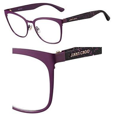 80f424fc529f Eyeglasses Jimmy Choo Jc 189 0FN1 Cyclamen Violet at Amazon Women s ...