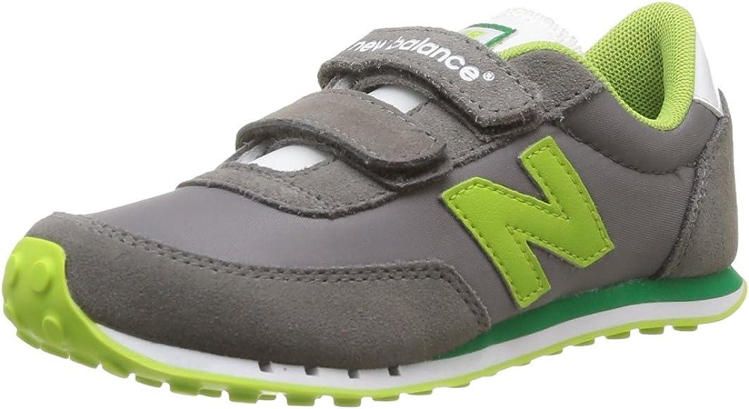 New Balance Ke410 M 354580-40-12 - Zapatillas de Tela para Unisex-niños, Color Gris, Talla 30: Amazon.es: Zapatos y complementos