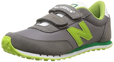 77f2f6ef1b76a New Balance Ke410 M, Baskets mode mixte enfant - Gris (Grey Green)