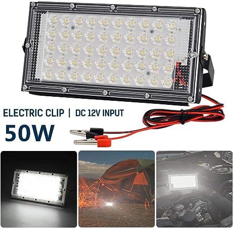 1/5 Pack 50W LED Flood Light,IP66 Waterproof 5000lm Outdoor Security LED Floodlight,Super Bright Security Lights: Amazon.es: Hogar