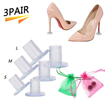 d9e5357d302 High Heel Protectors Heel Stoppers Stiletto Heel Cover Cylinder Shape  Protecting Heels from Grass, Gravel, Bricks, and Cracks,Perfect for ...