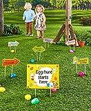 57 Piece-Plastic Easter Egg Hunt Kit-Family Centered Easter Activities- ...