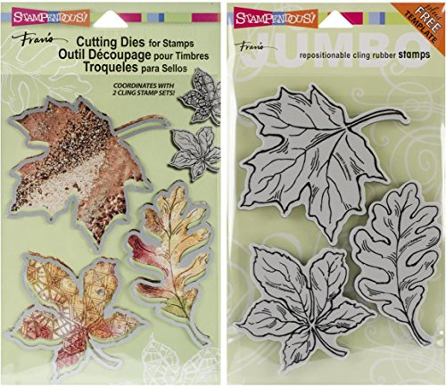 Autumn Leaves Rubber Stamps - 8
