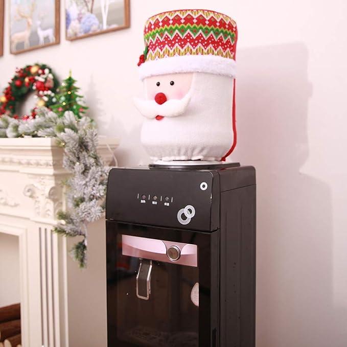 Creazy - Cubierta para el Polvo de Navidad, dispensador de Cubo de Agua, contenedor, purificador, decoración de Navidad: Amazon.es: Hogar
