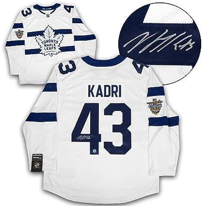 b07f9173a93 Image Unavailable. Image not available for. Color  Nazem Kadri Toronto  Maple Leafs Autographed Autograph Stadium Series Fanatics Replica Jersey ...