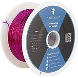 SainSmart 1.75mm Purple TPU Flexible 3D Printers Filament - 800g Spool
