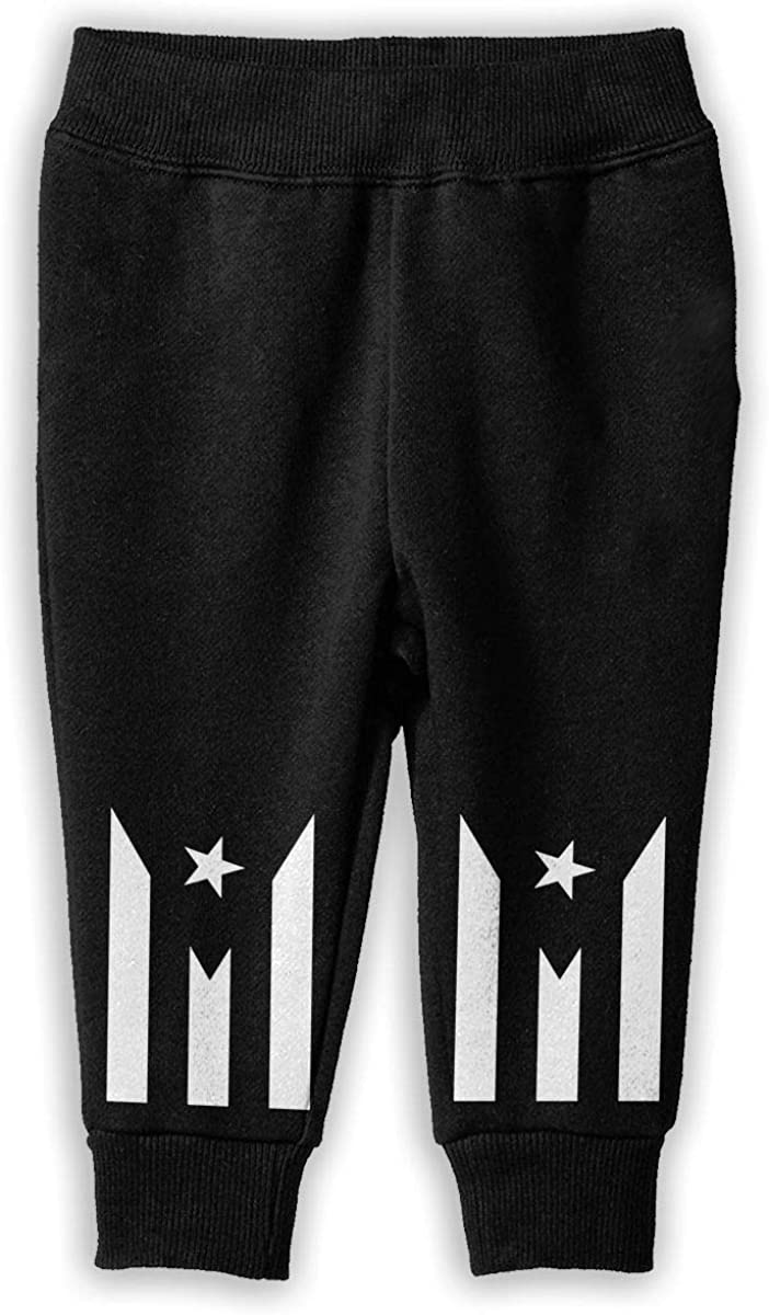 Printed Puerto Rico Flag Childrens Boys Girls Unisex Cool Sweatpants