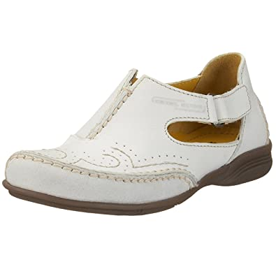 camel active Moon 178.11.02, Damen Ballerinas, weiss