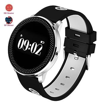MOREFINE Bluetooth Smartwatch Deportivo 0.96 Fitness Reloj ...