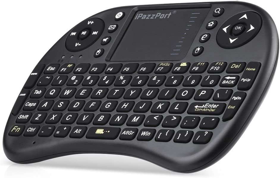 AKDSteel Mini Wireless 2.4Ghz Keyboard Backlit Perfect for Rasp-Berry Pi PC//Android Electronic Product
