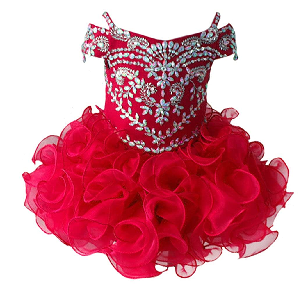 グランドセール Zhoumei Zhoumei DRESS B07B9KXTRD ベビーガールズ DRESS 1 レッド B07B9KXTRD, ルベツムラ:7090bdac --- a0267596.xsph.ru