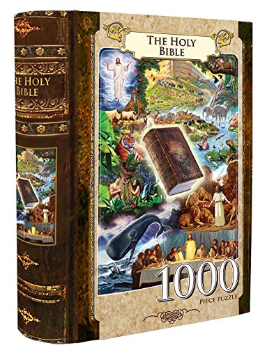MasterPieces The Holy Bible Book Box Assortment Jigsaw Puzzle, 1000-Piece