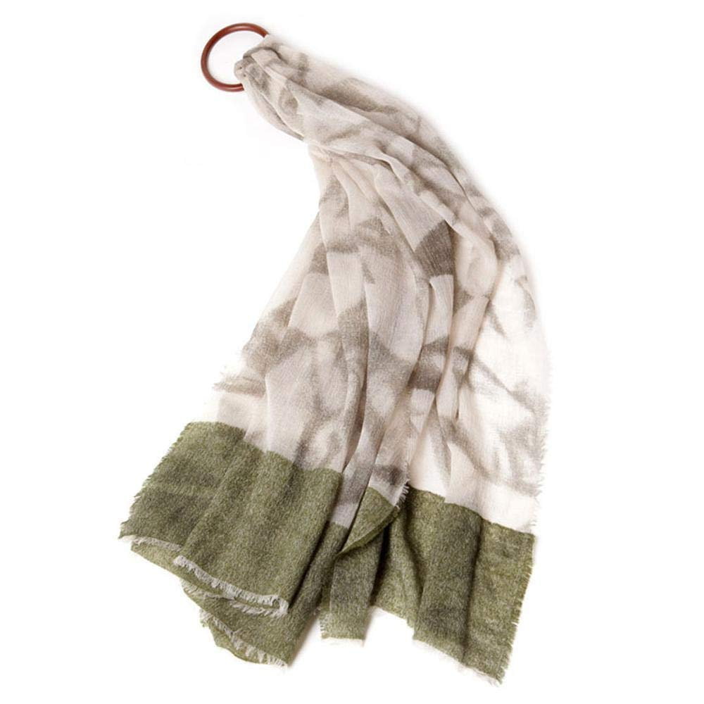 A Gquan Fashion Scarf Circle Yarn Women's Autumn Winter Long Thick Fluffy Scarf Warm Shawl Scarf Dualuse