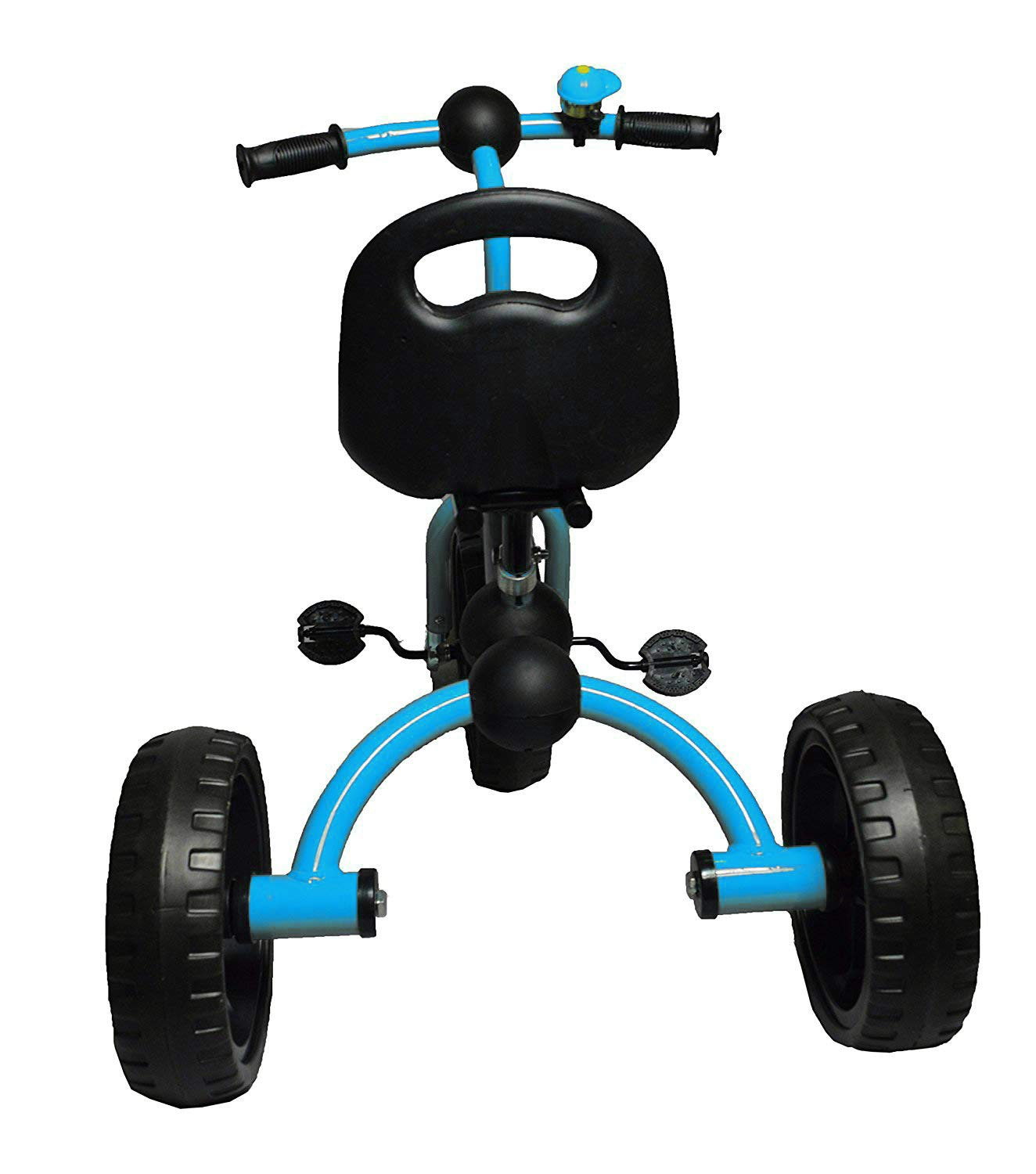 Little Bambino Tricycle for Children Toddler Age 2-6 Years Old Outdoor 3 Wheeler Pedal Ride On Trike with Bell Adjustable Seat Quick Assembly