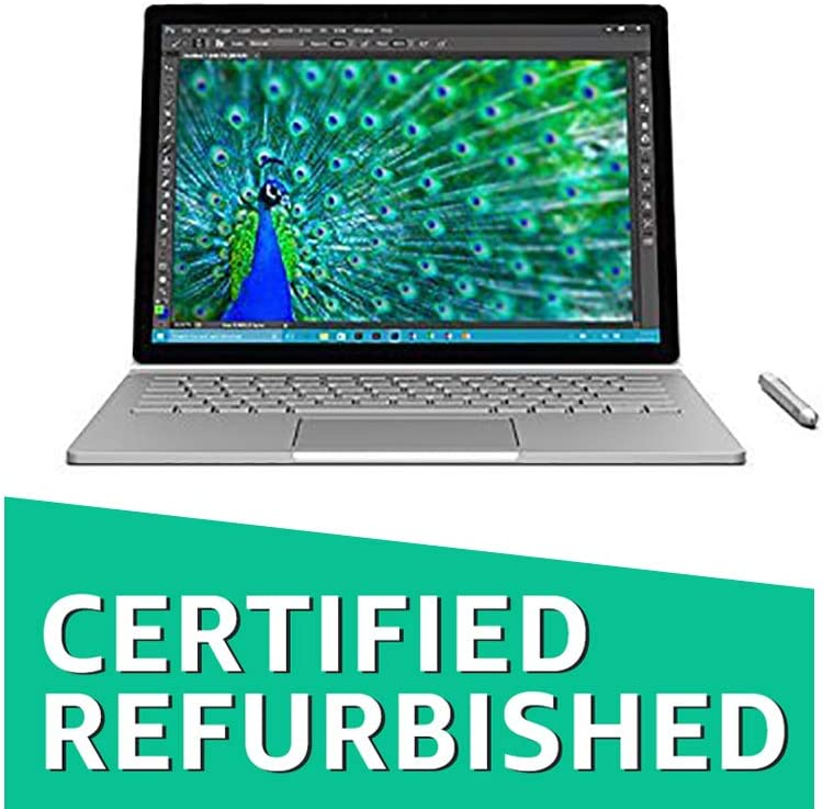 "Microsoft Surface Book - 256GB/Intel Core i7/8GB Memory 2-in-1 13.5"" Touch-Screen Laptop (Renewed)"