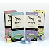 Biodegradable Taster Pack with Organic Fairtrade Coffees for Nespresso - 40 Compostable Pods