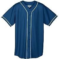 Augusta Sportswear Camiseta de béisbol para chicos, malla