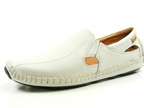 Pikolinos Jerez 09z-5958 Zapatos Mocasines de cuero para hombre, schuhgröße_1:46 EU;Farbe:blanc: Amazon.es: Zapatos y complementos