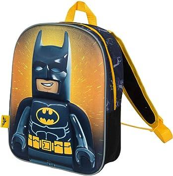 Lego Movie 2 Batman Junior Backpack for Kids 3D School Bag Superhero Rucksack