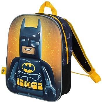 Mochilas Infantiles Niño Lego Movie Batman Cartera Escolar Niños con Imagen 3D: Amazon.es: Equipaje