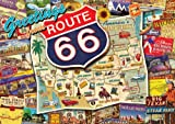 Best Buffalo Games Games For Adults - Buffalo Games Nostalgia Route 66, 500-Piece Jigsaw Puzzle Review