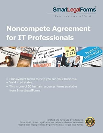 Amazon Com Noncompete Agreement For It Professionals Instant